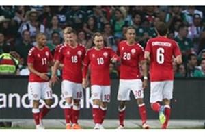 پیروزی دانمارک مقابل پرو/ اشمایکل رکورد پدر را شکست