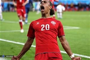 پولسن، بهترین بازیکن دیدار دانمارک مقابل پرو شد