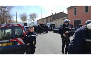 حمله یک زن با  سلاح سرد به سوپرمارکت فرانسه