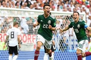 لوزانو بهترین بازیکن دیدار آلمان - مکزیک شد