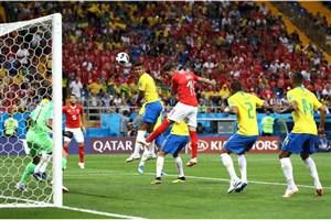 پیروزی یک نیمهای برزیلِ جذاب