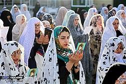 اقامه نماز عید فطر در تهران - امامزاده صالح