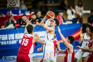 برتری تیم ملی بسکتبال در دیدار دوستانه با تیم صربستانی