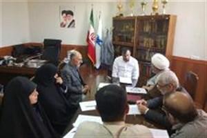 برگزاری جلسه ستاد اقامه نماز در دانشگاه آزاد اسلامی واحد تهران مرکزی