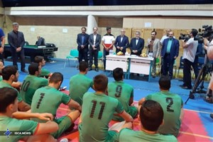صالحیامیری از اردوی تیم ملی کبدی بازدید کرد+ عکس