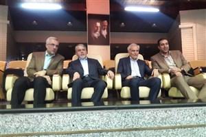 بازدید صالحی امیری از تمرینات تیم والیبال «ب» ایران