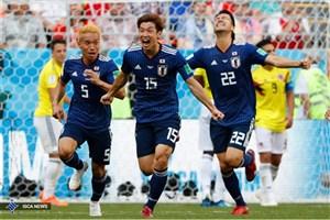 کلمبیا یک - ژاپن 2/ پیروزی سخت ساموراییها مقابل تیم 10 نفره