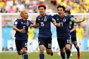 اوزاکو بهترین بازیکن دیدار کلمبیا و ژاپن شد