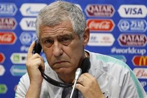 سانتوس: با پیروزی مقابل مراکش برای صعود آماده خواهیم شد/ امیدوارم رونالدو کماکان مهارناپذیر باشد