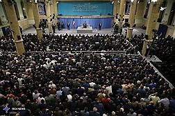 دیدار رئیس و نمایندگان مجلس شورای اسلامی با رهبر معظم انقلاب