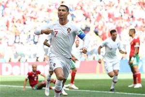 رونالدو: از گلزنی مقابل مراکش خوشحالم/ باید به پیشرفتمان ادامه دهیم
