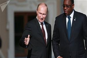 رییس جمهور سنگال با همتای روس خود دیدار کرد