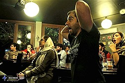 تماشاگران تلویزیونی بازی  ایران و اسپانیا