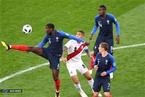 پیروزی یک نیمه ای فرانسه مقابل پرو