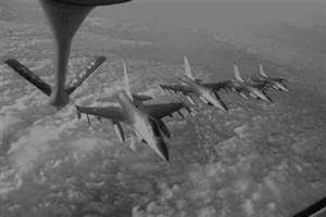 حمله جنگنده های آمریکایی به مواضع ارتش سوریه