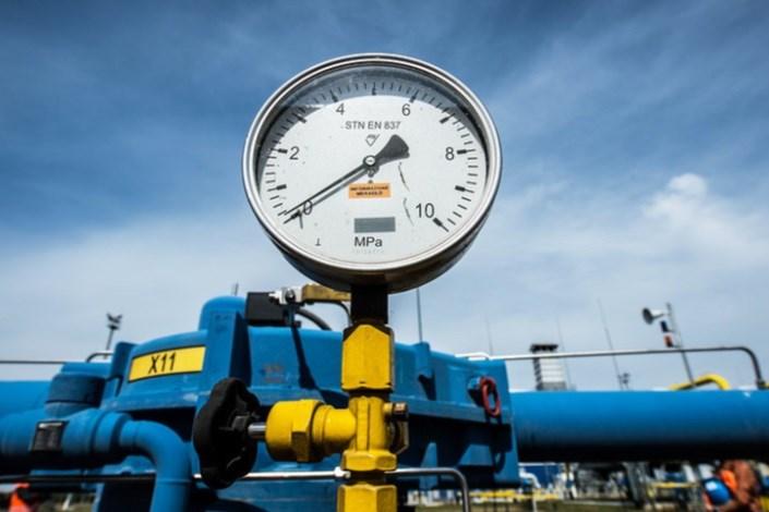 صادرات گاز