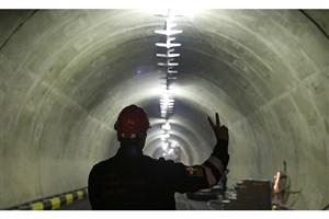 گشایش تونل آرش و کاهش بار ترافیکی