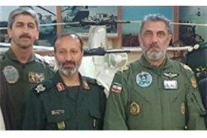 فرماندهان هوانیروز سپاه و ارتش دیدار و گفتوگو کردند