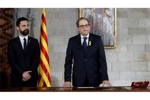 کاتالونیا روابط خود با اسپانیا را قطع کرد