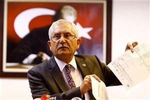 اعلام پیروزی اردوغان توسط شورای انتخابات ترکیه