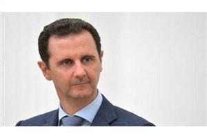 تاکید اسد بر بازسازی سوریه