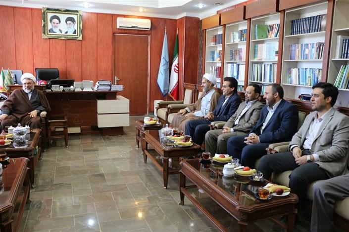 دیدار با رئیس کل دادگستری استان اردبیل