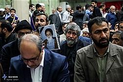 مراسم ترحیم حجت الاسلام حسینی