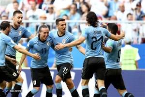 اروگوئه 3 - روسیه صفر/ خط و نشان آبی آسمانیها برای گروه مرگ