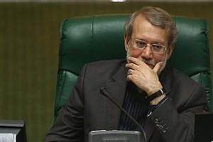 """"""" چشم """" گفتن علی لاریجانی درباره تحقیق و تفحص از مجلس"""