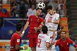 گزارش تصویری از دیدار تیم های فوتبال ایران و پرتغال