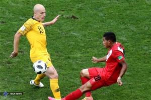 پیروزی یکنیمهای پرو مقابل استرالیا