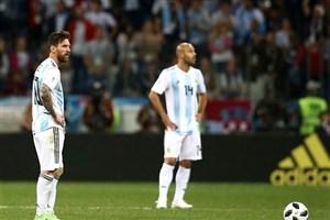اعلام ترکیب اصلی تیمهای آرژانتین و نیجریه/ آگوئرو نیمکتنشین شد