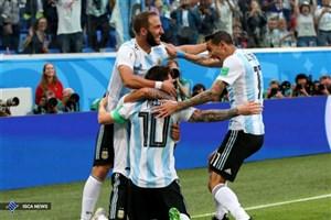 پیروزی یکنیمهای آرژانتین با شکستن طلسم مسی