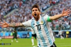نیجریه یک-آرژانتین 2/ مسی با جان کندن صعود کرد!