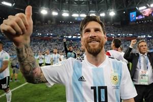 مسی به رکورد مارادونا و باتیستوتا رسید