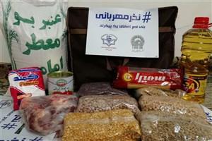 محرومان حاشیه شهر کرمان مهمان نذر مهربانی