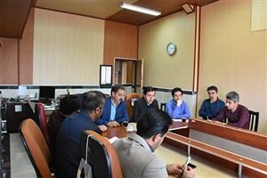 جلسه هماهنگی برگزاری کنکور در دانشگاه  آزاد اسلامی واحد بوکان
