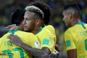 برزیل 2 - مکزیک صفر/ صعود پر افتخارترین تیم جهان با درخشش نیمار