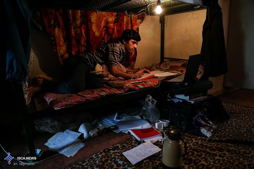 پشت صحنه روزهای پرمشغله امتحانات دانشجویی