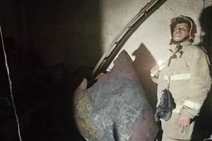 انفجار و آتش سوزی درخشکشویی + عکس