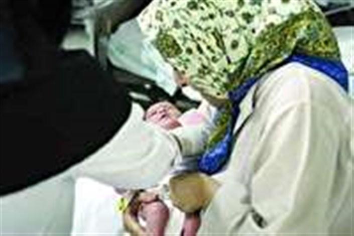 تولد نوزاد مریوانی در جلسه کنکور