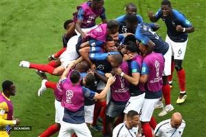 فرانسه 2 - اروگوئه صفر/ صعود آسان خروسها به نیمهنهایی