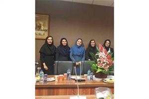 جلسه دفاع اولین دانشجوی دکتری شیمی آلی  برگزار شد