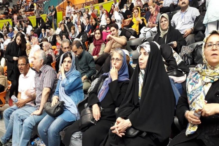 افتتاحیه پنجمین المپیاد ورزشی بازنشستگان شهرداری