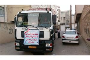 آبرسانی واحدهای دانشگاه آزاد اسلامی به شهرهای آبادان و خرمشهر+ تصاویر