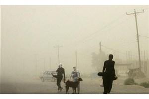 طوفان شن در سیستان و بلوچستان مردم را روانه بیمارستان کرد