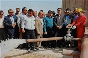 بهرهبرداری از ۲ پروژه انتقال آب در مناطق نفتخیز جنوب