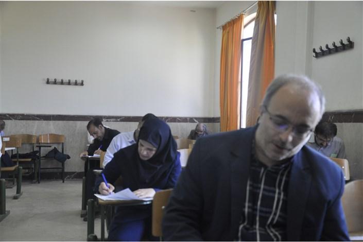 با حضور 104 نفر آزمون جامع دکتری تخصصی در دانشگاه آزاد اسلامی واحد شبستر برگزار شد.