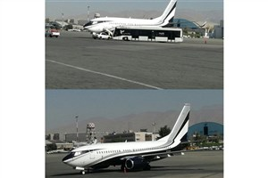 هواپیمای ناشناس در فرودگاه مهرآباد تهران/ ابهام در پاسخگویی مسئولان