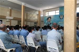 افتتاح کتابخانه درمرکز نگهداری ازمعتادان  اخوان در ملارد